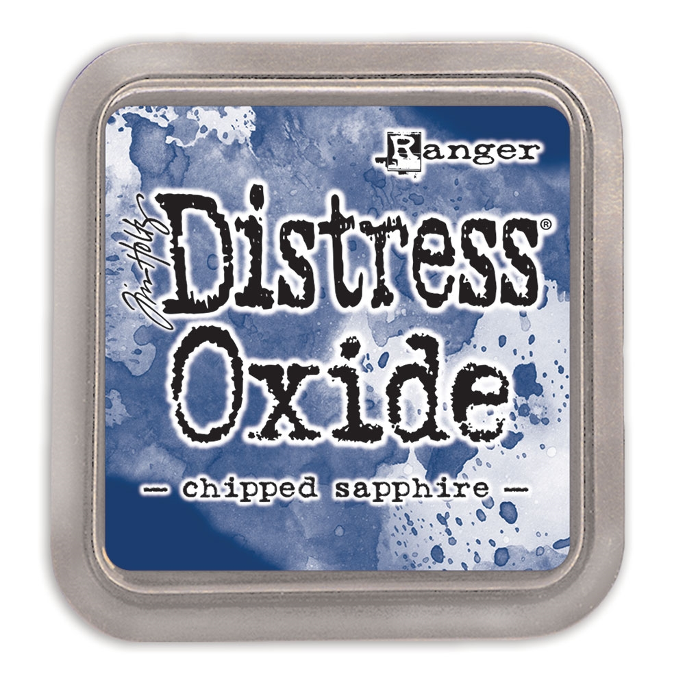 Tim Holtz Distress Oxide Ink Pad CHIPPED SAPPHIRE Ranger tdo55884 zoom image