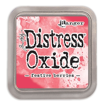Tim Holtz Distress Oxide Ink Pad FESTIVE BERRIES Ranger tdo55952