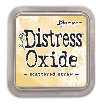 RESERVE Tim Holtz Distress Oxide Ink Pad SCATTERED STRAW Ranger tdo56188