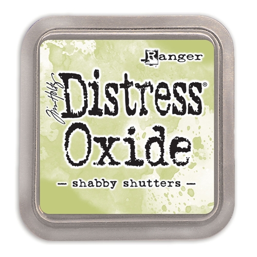 Tim Holtz Distress Oxide Ink Pad SHABBY SHUTTERS Ranger tdo56201 Preview Image