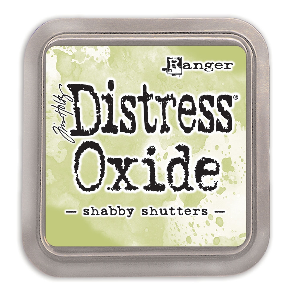Tim Holtz Distress Oxide Ink Pad SHABBY SHUTTERS Ranger tdo56201 zoom image