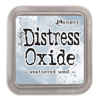 RESERVE Tim Holtz Distress Oxide Ink Pad WEATHERED WOOD Ranger tdo56331