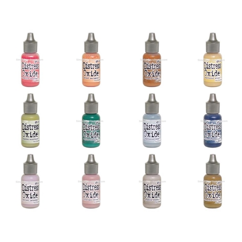 Tim Holtz Distress OXIDE REINKERS SET OF 12 Ranger ranger117 Preview Image