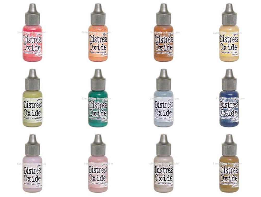 Tim Holtz Distress OXIDE REINKERS SET OF 12 Ranger ranger117 zoom image