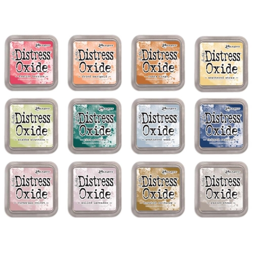 Tim Holtz Distress OXIDE INK PAD SET OF 12 Ranger ranger118 Preview Image