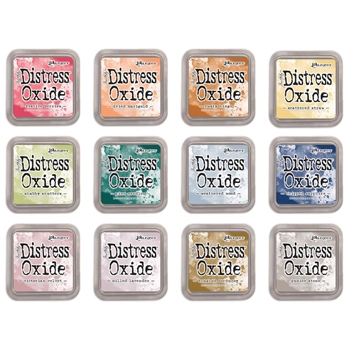Tim Holtz Distress OXIDE INK PAD SET OF 12 Ranger ranger118