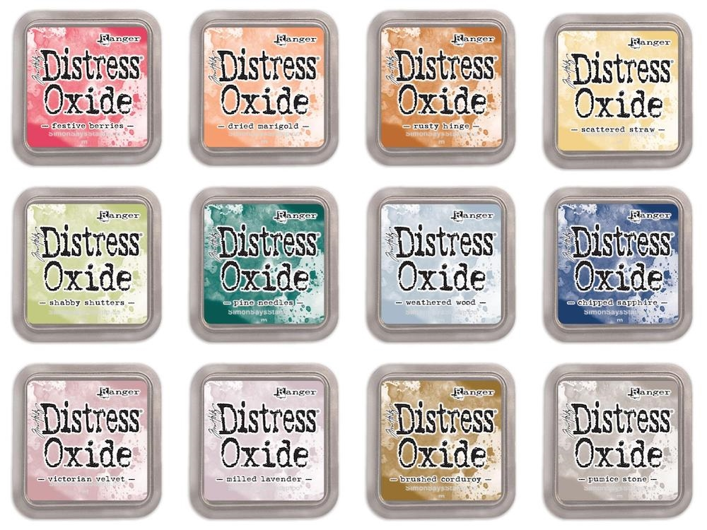 Tim Holtz Distress OXIDE INK PAD SET OF 12 Ranger ranger118 zoom image