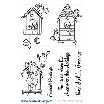 Your Next Stamp HOME FOR THE HOLIDAYS Clear cyns669
