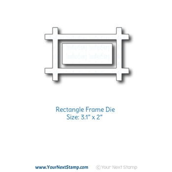 Your Next Die THICK RECTANGLE FRAME ynsd809