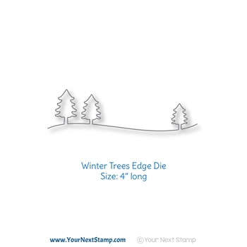 Your Next Die WINTER TREES EDGE ynsd806