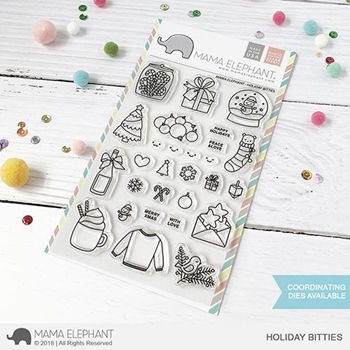Mama Elephant Clear Stamps HOLIDAY BITTIES