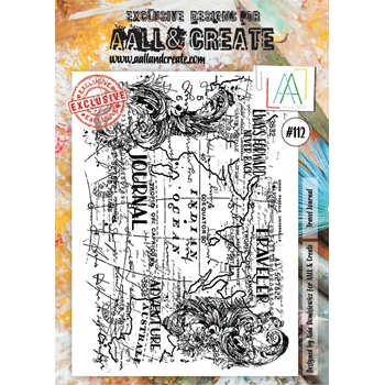 AALL & Create TRAVEL JOURNAL Clear Stamp aal00112
