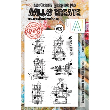 AALL & Create CHESS PIECES Clear Stamp Set aal00122