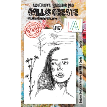 AALL & Create GROWTH Clear Stamp Set aal00127