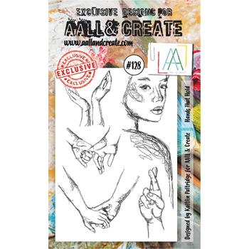 AALL & Create HANDS THAT HOLD Clear Stamp Set aal00128