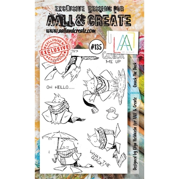 AALL & Create QUACK THE DUCK Clear Stamp Set aal00135