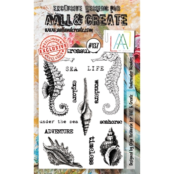 AALL & Create UNDERWATER WONDERS Clear Stamp Set aal00137