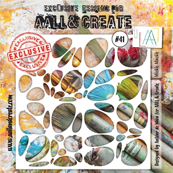 AALL & Create MICKLE MUCKLE Stencil aal10041