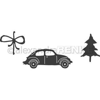 Alexandra Renke CAR WITH FIR TREE Dies darw0075