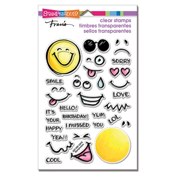 Stampendous Clear Stamps EMOJIS ssc1299