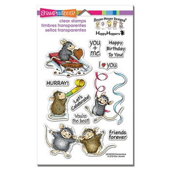Stampendous Clear Stamps CELEBRATE FRIENDS House Mouse sscm5006