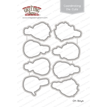 The Greeting Farm OH BOYS Coordinating Die Cuts TGF442