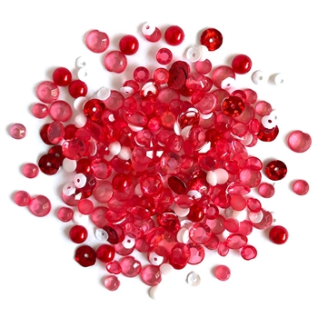 Buttons Galore and More Sparkletz PEPPERMINT JAZZ Embellishments SPK124