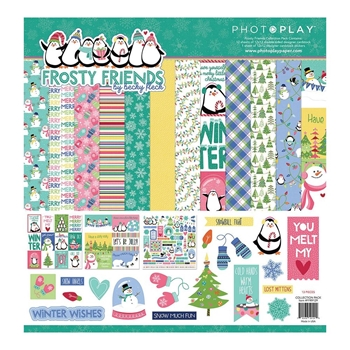 PhotoPlay FROSTY FRIENDS 12 x 12 Collection Pack ffr9129