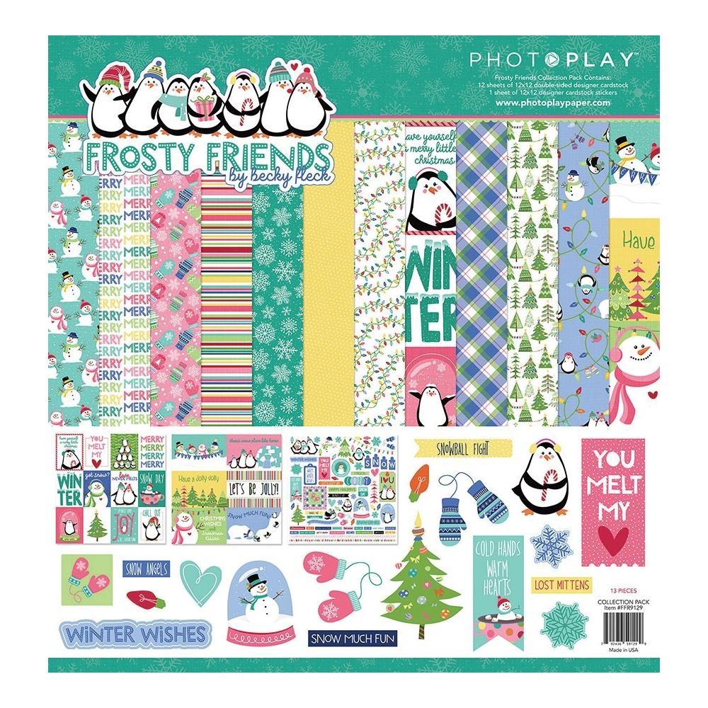PhotoPlay FROSTY FRIENDS 12 x 12 Collection Pack ffr9129 zoom image