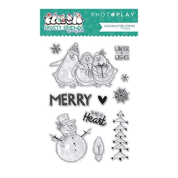 PhotoPlay FROSTY FRIENDS Clear Stamps ffr9131