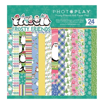 PhotoPlay FROSTY FRIENDS 6 x 6 Paper Pad ffr9134