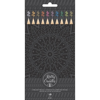 Kelly Creates STARLIGHT Metallic Colored Pencils 348285
