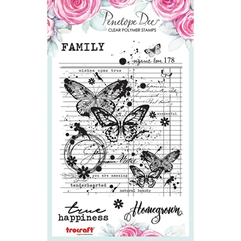 Penelope Dee VICTORIA Clear Stamps pd1661