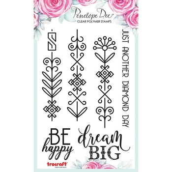 Penelope Dee DIAMOND LAYNE Clear Stamps pd1511