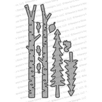 Newton's Nook Designs FOREST SCENE BUILDER Dies NN1810D09