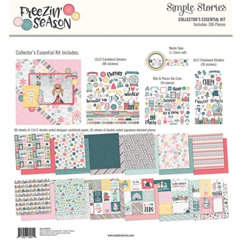 Simple Stories FREEZIN SEASON 12 x 12 Collector's Essential Kit 10376
