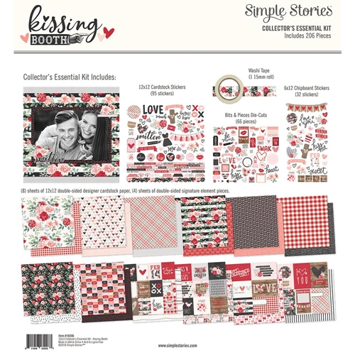 Simple Stories KISSING BOOTH 12 x 12 Collector's Essential Kit 10396 Preview Image