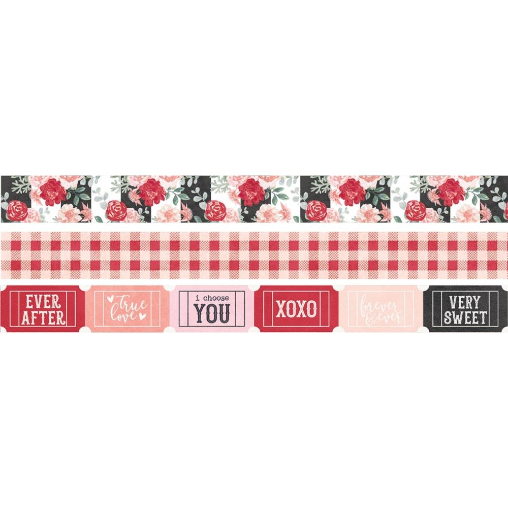 Simple Stories KISSING BOOTH Washi Tape 10395 zoom image