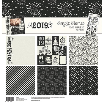 Simple Stories 2019 12 x 12 Collection Kit 10407