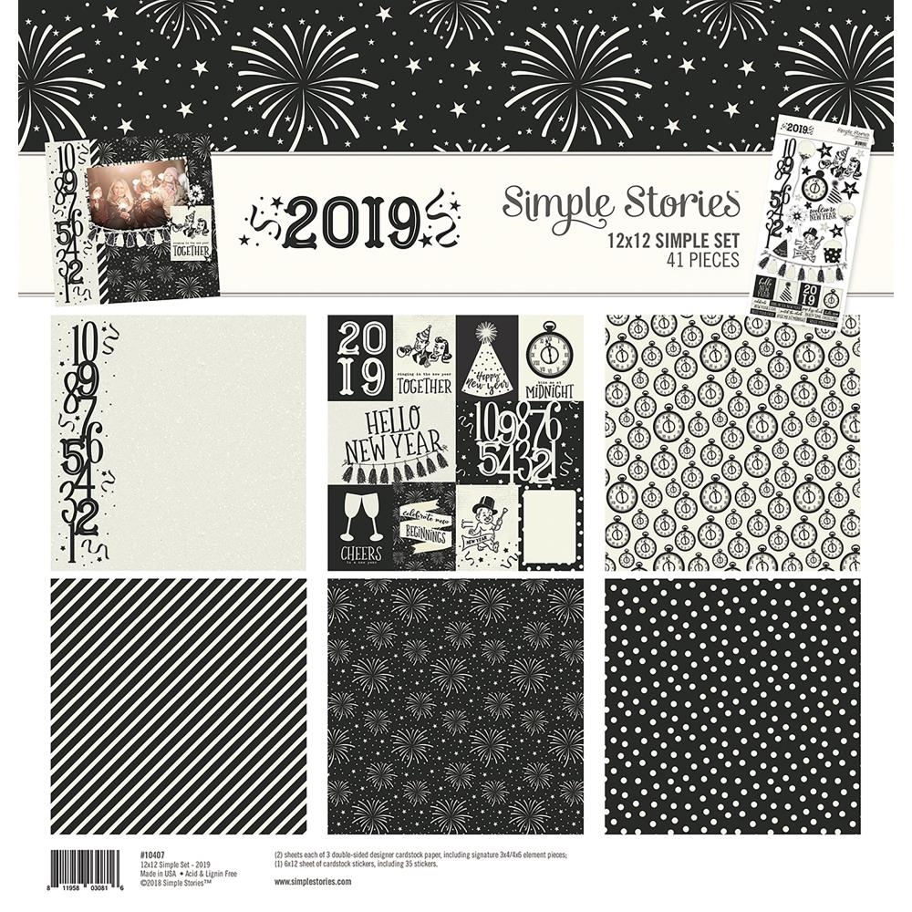 Simple Stories 2019 12 x 12 Collection Kit 10407 zoom image