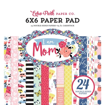Echo Park I AM MOM 6 x 6 Paper Pad mom165023