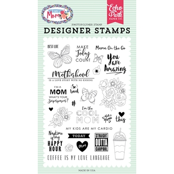 Echo Park MOTHERHOOD Clear Stamps mom165040