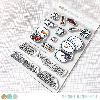 Create A Smile SECRET INGREDIENT Clear Stamps clcs91
