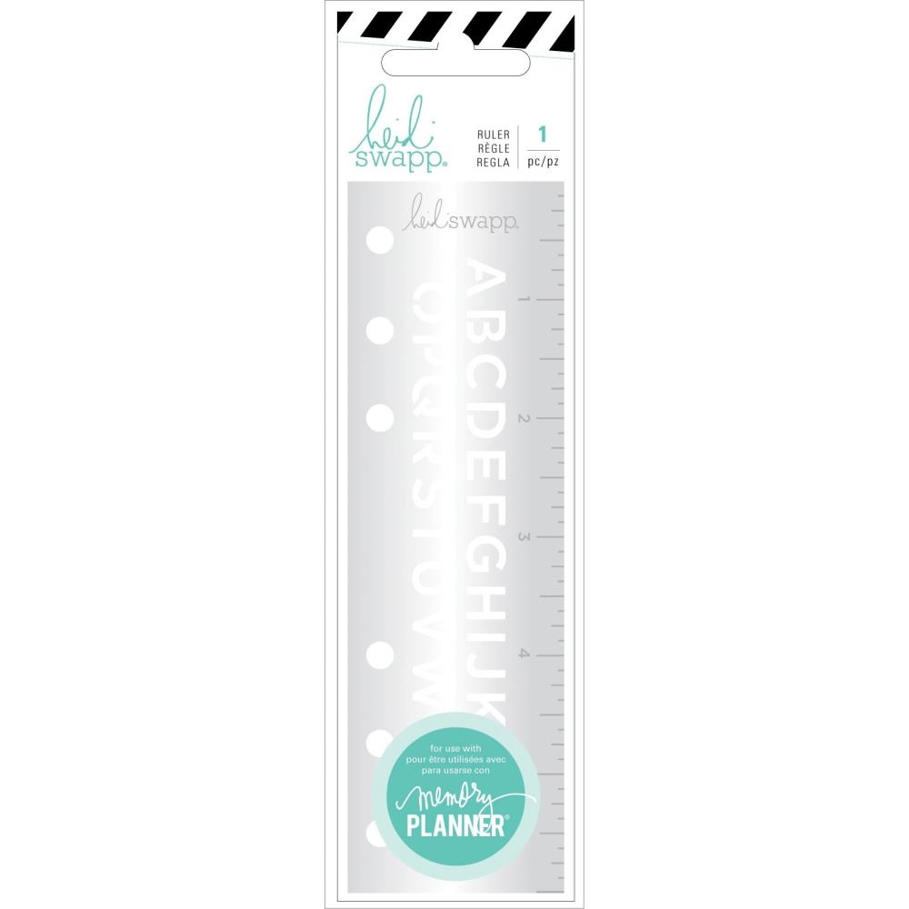 Heidi Swapp COLOR FRESH Alphabet Ruler 314401 zoom image