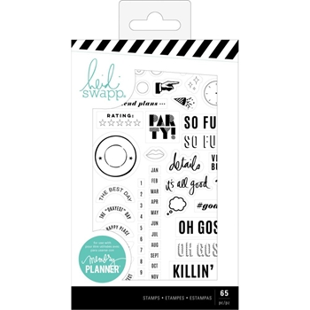 Heidi Swapp COLOR FRESH Clear Stamps 314402