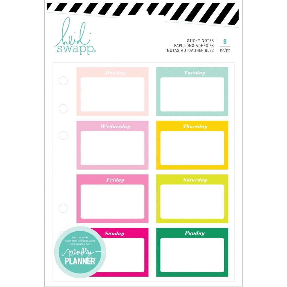 Heidi Swapp COLOR FRESH Sticky Notes 314399 zoom image