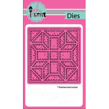 Pink and Main QUILT SQUARE 1 Dies PNM183
