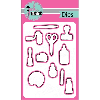 Pink and Main CRAFTY Dies PNM180