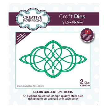Creative Expressions KEIRA Sue Wilson Celtic Collection Dies ced1210