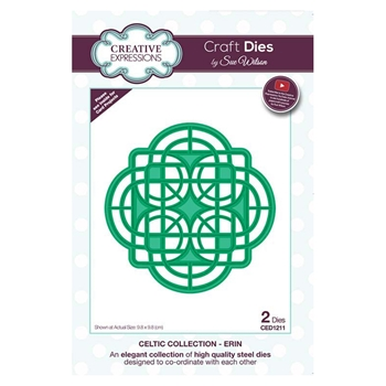 Creative Expressions ERIN Sue Wilson Celtic Collection Dies ced1211